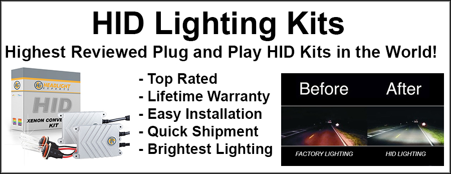 Request A Jeep Replacement Light Bulb Size Chart >> Headlight Experts Hid Lighting Kits