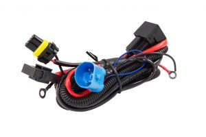 Dual Beam Premium Power Relay Harness / Anti-Flicker