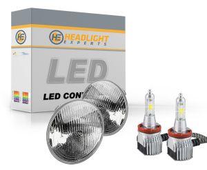 H5006 Dual Beam Sealed Beam LED Headlight Conversion Kit