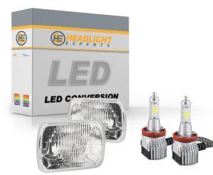 H4666 Dual Beam Sealed Beam LED Headlight Conversion Kit
